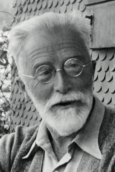 Rudolf Ibach um 1930, Foto: Rosemarie Nohr
